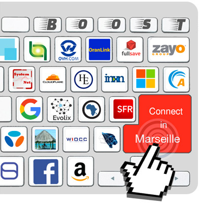 keyboard with membrers connected in Marseille