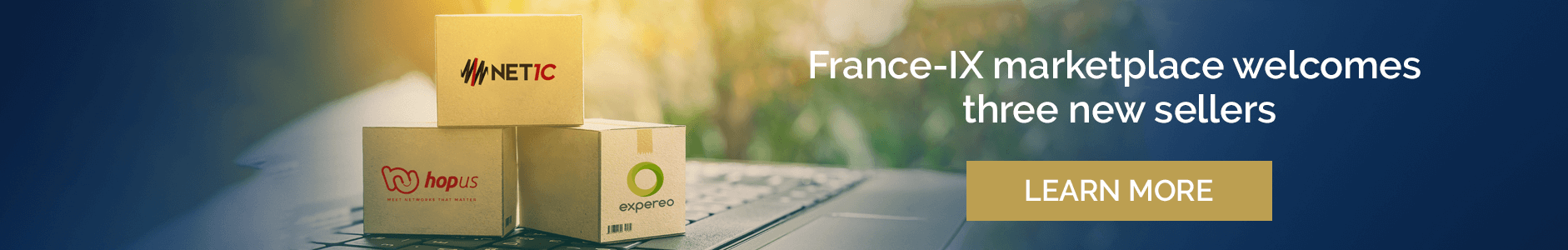 France-IX marketplace welcomes three new sellers