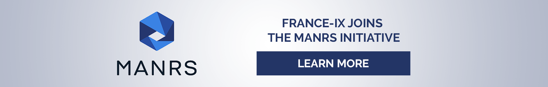 FRANCE-IX JOINS THE MANRS INITIATIVE