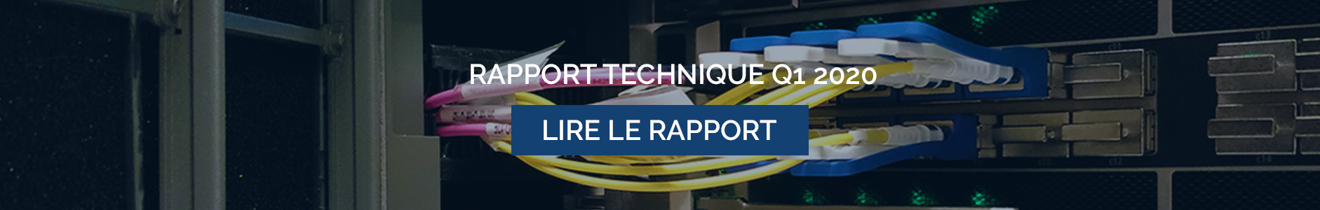 RAPPORT TECHNIQUE Q1 2020