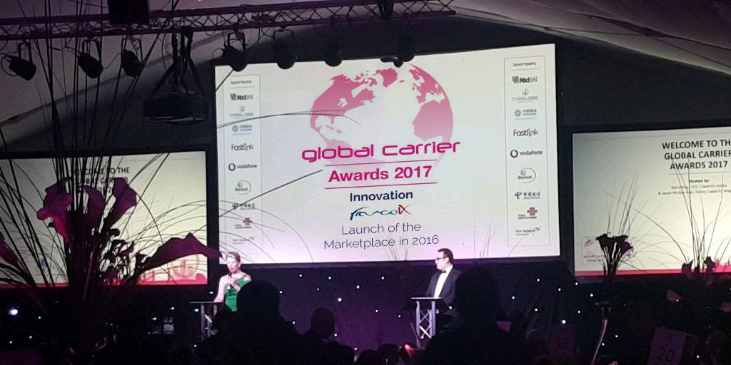 Best Internet Exchange Innovation at the Global Carrier