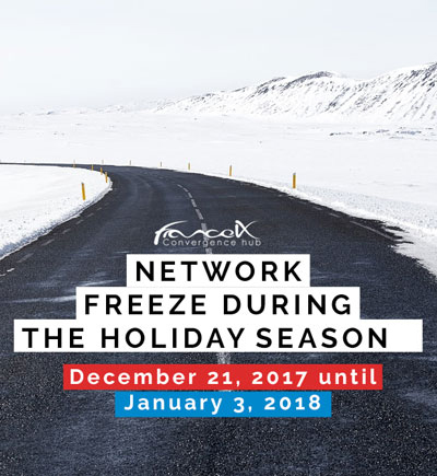 Network freeze during the holidays season