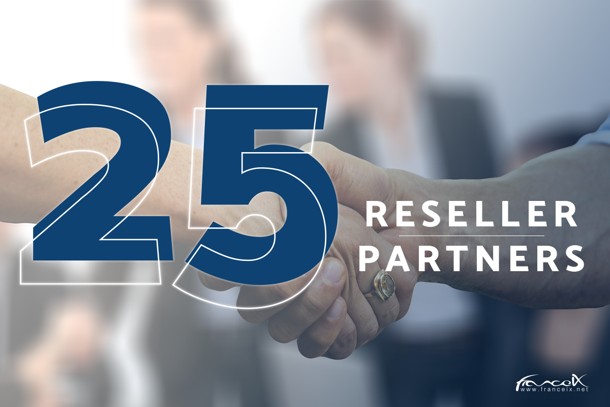 France-IX hits milestone of 25 Reseller Partners